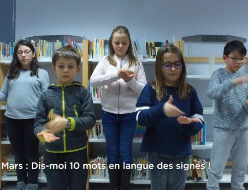Dis-moi 10 mots en langue des signes